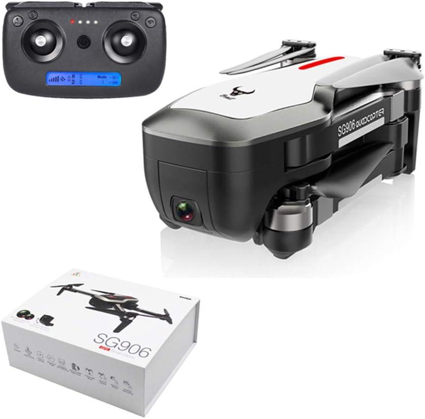 LCDYDron Aéreo 4K Ultra Claro con GPS, Cámara Dual De Flujo Óptico 1080P, Avión Profesional Antivibración 5G, Avión De Seguimiento con Zoom 60X, Caja De Color Portátil + En Varios Idiomas