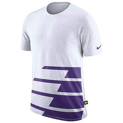 731d9c2c498dd Amazon.com: Nike Men's Los Angeles Lakers DNA T-Shirt Small White ...
