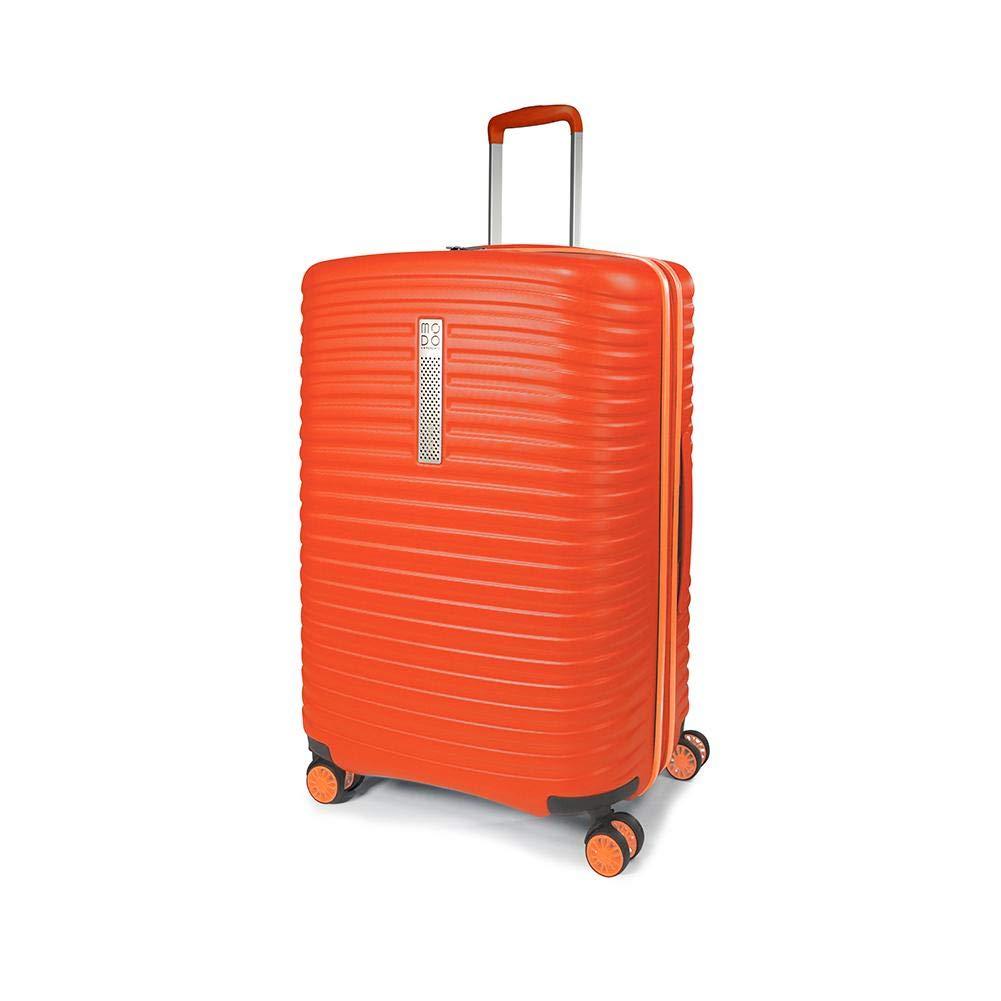 Misura: 78x52x29//34 Cm Peso: 4.6 Kg MODO by Roncato Trolley Grande Vega Arancione Capacit/à: 117//123 L
