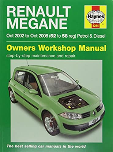 haynes 4284 service and repair workshop manual amazon co uk rh amazon co uk repair manual renault modus service manual renault modus
