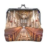 Ethel Ernest Sacred Church Coin Wallets Mini Purse for Womens Girls Ladies