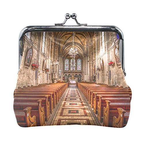 Ethel Ernest Sacred Church Coin Wallets Mini Purse for Womens Girls Ladies by Ethel Ernest