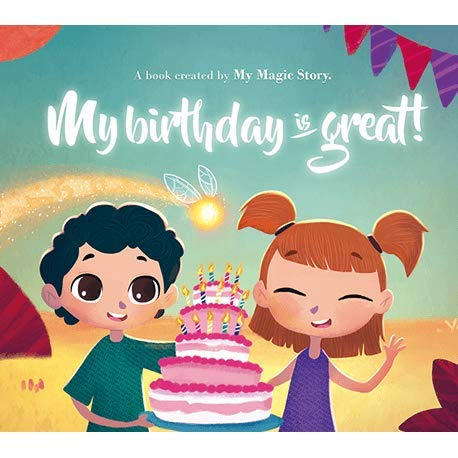 Libro personalizado para niños: My Name is Great by My Magic ...