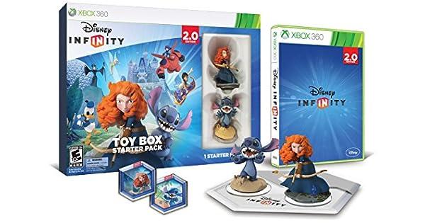 Disney INFINITY: Toy Box Starter Pack (2.0 Edition) - Xbox 360 by Disney Infinity: Amazon.es: Videojuegos