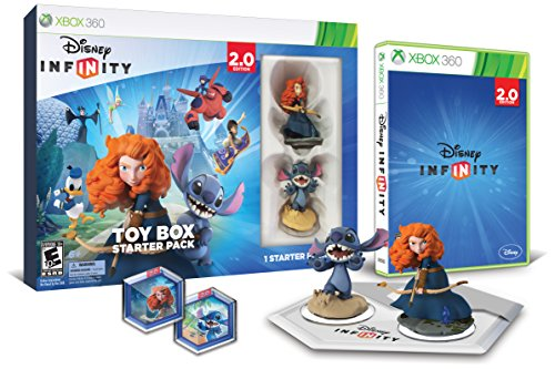 Disney INFINITY: Toy Box Starter Pack (2.0 Edition) - Xbox 360 (Disney Infinity 2.0 Best Price)