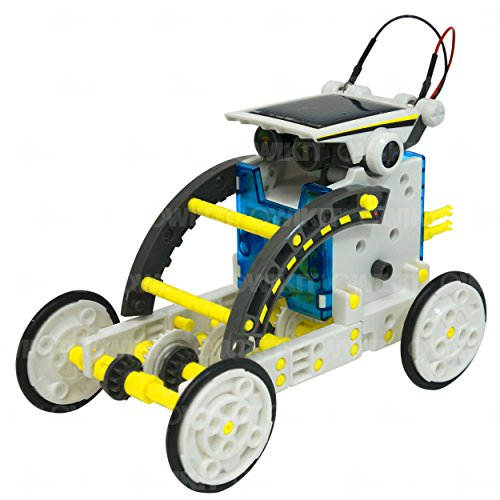 Toys For Boys 10 14 : In educational solar robot build your own kit