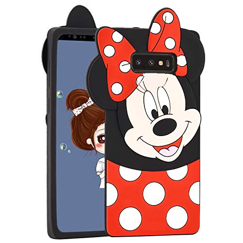 Allsky Case for Samsung Galaxy Note 8,Cartoon Soft Silicone Cute 3D Fun Cool Cover,Kawaii Unique Kids Girls Teens Animal Character Rubber Skin Shockproof Funny Cases for Galaxy Note 8 Minnie - Cartoon Note 3d 3 Case