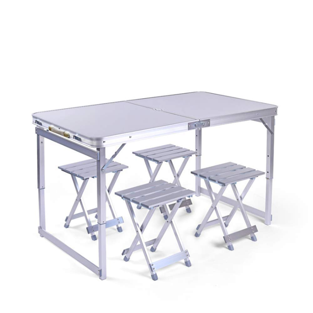 LIW 4 Sillas Conjunto de mesas Plegables Picnic al Aire ...