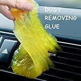 Sunshay Keyboard Cleaner,Auto Interior Cleaning Glue,Universal Cleaning Gel Dust Cleaner for Keyboard, Calculator, Car Vent,Dust Dirt Adsorption Cleaner Multi-Colored