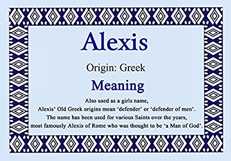 29++ Alexis the name information