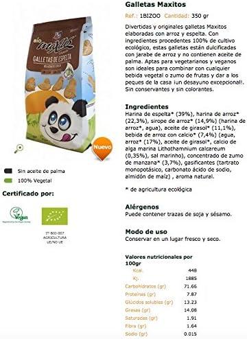 Galletas Maxitos BIO - La Finestra sul cielo - 350gr (BIO): Amazon.es: Alimentación y bebidas