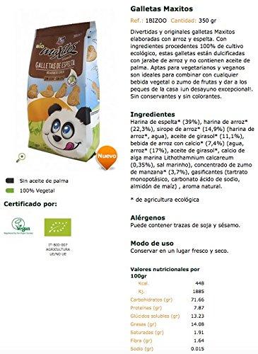 Galletas Maxitos BIO - La Finestra sul cielo - 350gr: Amazon ...