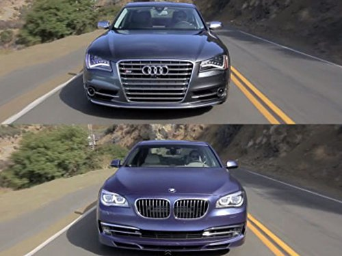 Audi S8 vs BMW Alpina B7!