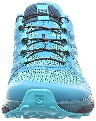 Salomon Sense Ride Running Shoe - Women's Blue Bird/Deep Lagoon/Navy Blazer 7 by Salomon (Image #8)