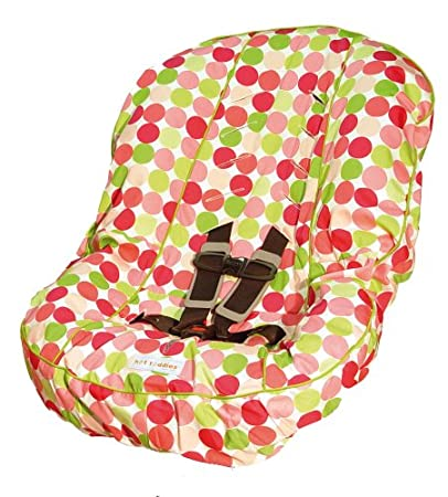 Hot Toddies Toddler Car Seat Cover Avery Dot Pink