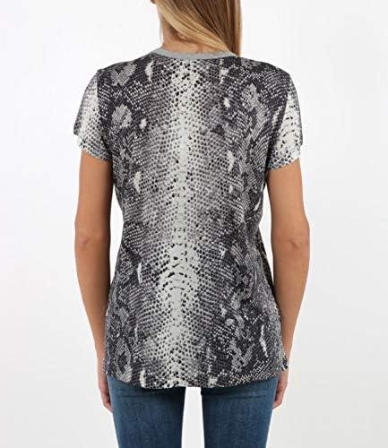 N 21 T-Shirt con Stampa Donna MOD. FF031