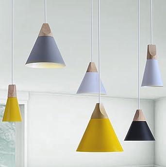 E27 Lámpara colgante moderna lámpara de techo colgante ...