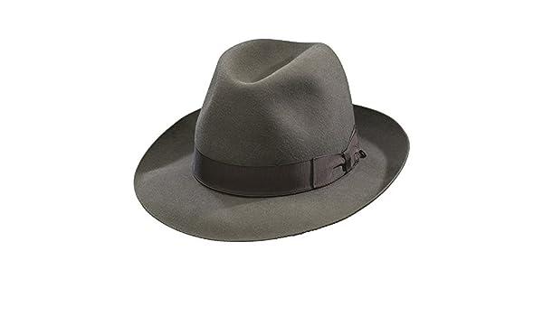 01a144e5759 Borsalino Como Fedora-Taupe at Amazon Men s Clothing store