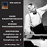 ベートーヴェン: 交響曲第3番「英雄」、ブルックナー: 交響曲第8番 (Beethoven : Symphony No.3, Bruckner : Symphony No.8 / Hans Knappertsbusch & Wiener Philharmoniker / Live Recordings, 1961) (2CD) [輸入盤]