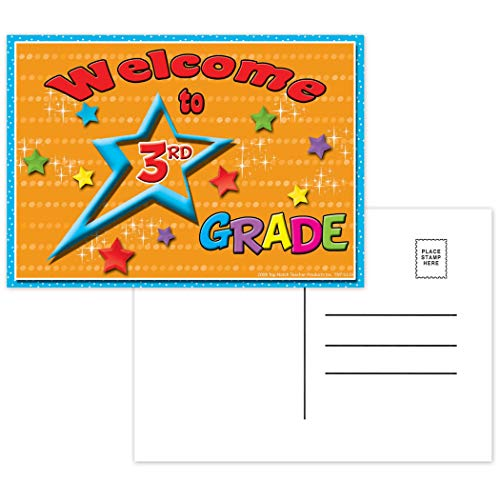 - Top Notch Teacher Products TOP5119 Welcome to 3rd Grade Postcards, 4.1