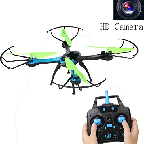 OVERMAL JJRC H98 2.4GHz 4CH 6-Axis Quadcopter Drone With 0.3MP Camera Headless Mode by JJRC