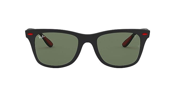 Ray-Ban 0RB4195M Gafas de sol, Matte Black, 52 para Hombre: Amazon ...