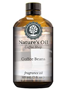 Coffee Beans Fragrance Oil (60ml) For Diffusers, Soap Making, Candles, Lotion, Home Scents, Linen Spray, Bath Bombs, Slime