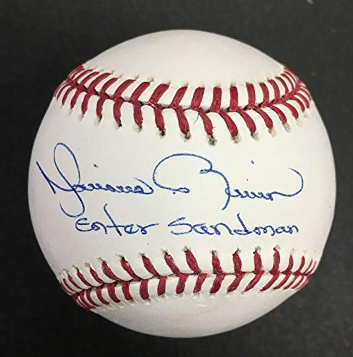 Mariano Rivera Signed Official Mlb Ball Auto Inscribed Enter Sandman - PSA/DNA Certified - Autographed ()