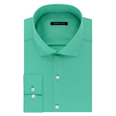 18672f809acb5 Image Unavailable. Image not available for. Color  VanHeusen Van Heusen  Men s Athletic-Fit Long Sleeve Lux Sateen Dress Shirt (Neck 17