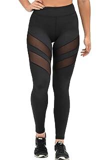 SHOBDW Pantalones Mujer Moda Ahueca hacia Fuera SóLido Sexy ...