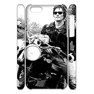 Iphone 5C 3D DIY Phone Back Case with Walking Dead Image