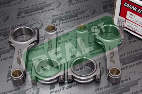 Connecting Rod Set (Manley 14008-4 H-Beam Connecting Rod)