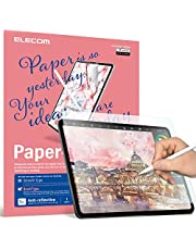 ELECOM TB-A18LFLAPL-W Screen Protector Film for iPad Pro 2018, 12.9 inches,drawing - rough (more paper feel)