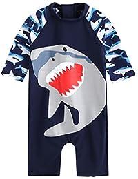 Vaenait Baby 0-24M Baby Boys Swimsuit Rashguard Swimwear Cooling Jaws