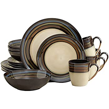 Pfaltzgraff Galaxy 16-Piece Dinnerware Set  sc 1 st  Amazon.com : pfaltzgraff taos 16 pc dinnerware set - pezcame.com