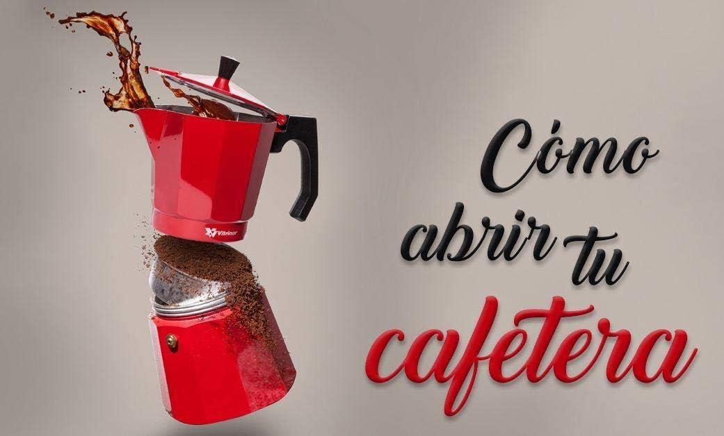 Cafetera de inducción, Café espresso Moka 6-12 tazas, Máquinas de ...