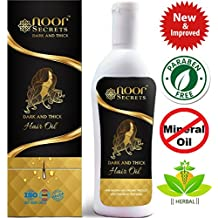 Natural Growth Hair Oil - Hair Growth Oil for Stronger, Thicker, Longer Hair - Hair Loss Oil for Hair Regrowth - Best Treatment for Hair Loss, Thinning & Receding Hairline - for Men & Women