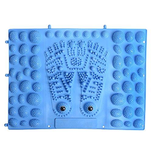 (Acupressure Foot Massage Mat Reflexology Pad with Magnet FMT02B)