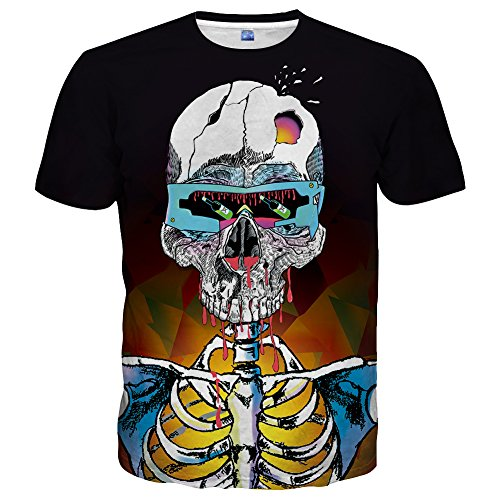 Yasswete T Shirts for Men Women Graphic Unisex 3D Printed Short Sleeve Summer Cool Tops Size - Se Graphics