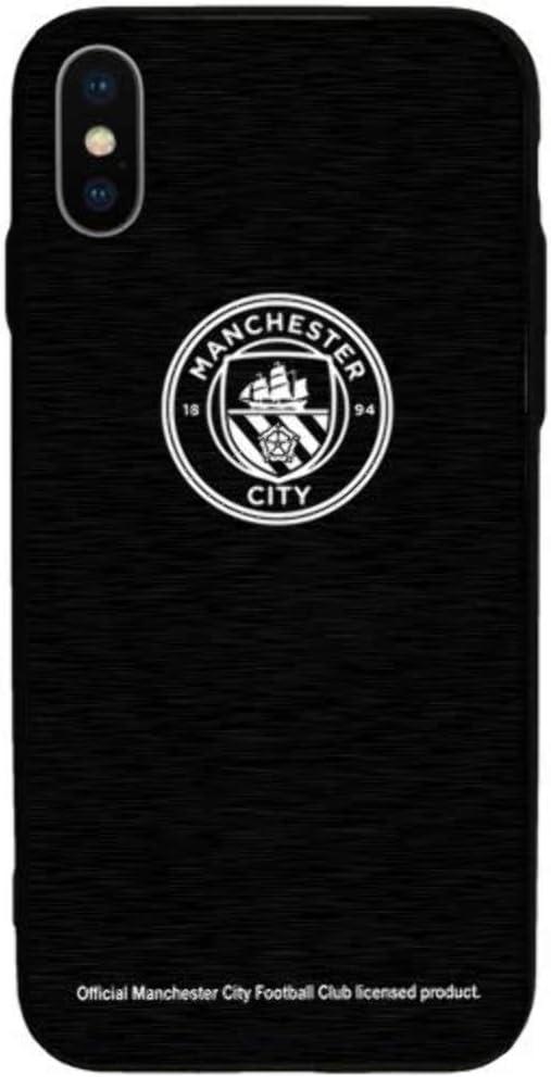 Manchester City FC iPhone X Coque en aluminium pour iPhone X Motif Manchester City Fc Football Cadeaux - Accessoires Apple iPhone