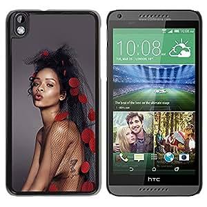 Unique Designed Cover Case For HTC Desire 816 With Hd Rihanna Pop Music Celebrity Phone Case