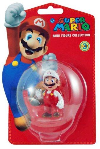 Super Mario Themed Costumes - Super Mario Bros. Fire Mario Figure Party Accessory