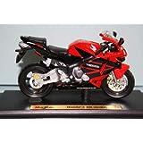 10/Honda CBR 100/Druckguss-Modell Motorrad Welly 62804/W Ma/ßstab 1
