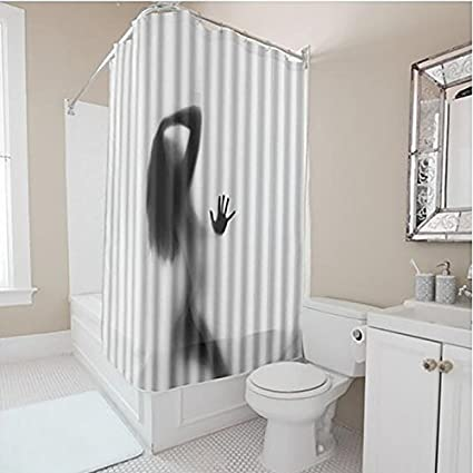 Image Unavailable Not Available For Color Body Art Canvas Painting Shower Curtain