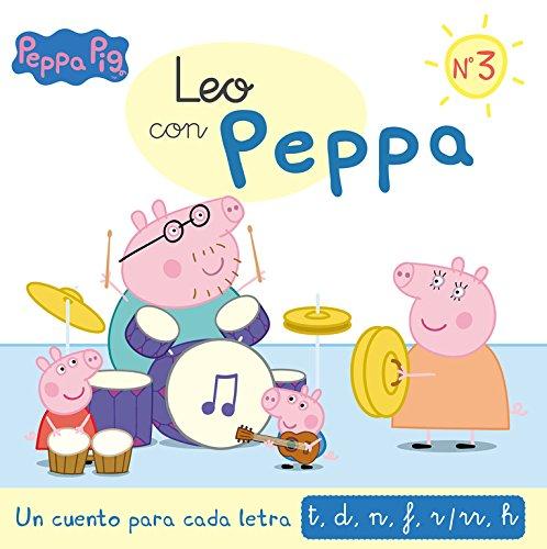 Un cuento para cada letra: t d n f r/rr h (Leo con Peppa Pig 3)