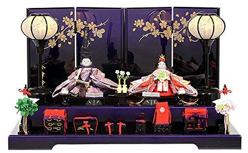 雛人形 親王飾り 平飾り No.302-35   B01M8GL4MX