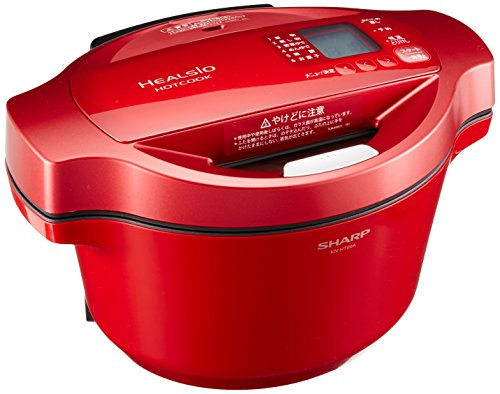 SHARP HealsIo Hot Cook electrical Anhydrous Pot Red system KN-HT99A-R