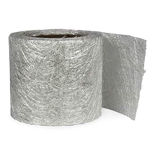 Fibre Glast Fiberglass Mat Tape - 4 Inches Wide - 10 Yard Roll - Tear-Apart - Reinforce Tough (Fiberglass Mat Tape)
