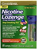 Best Nicotine Polacrilexes - GoodSense Mini Nicotine Polacrilex Lozenge, Mint, 4mg, 81 Review