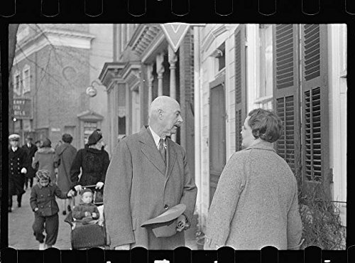 Photo: A street, Annapolis, Maryland, MD, Anne Arundel County, November 1937, John Vachon . Size: - Annapolis In Shopping Maryland